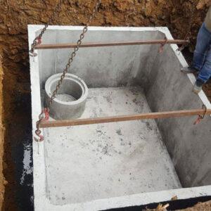 Kvalitní betonová žumpa se hodí ke každé nemovitosti